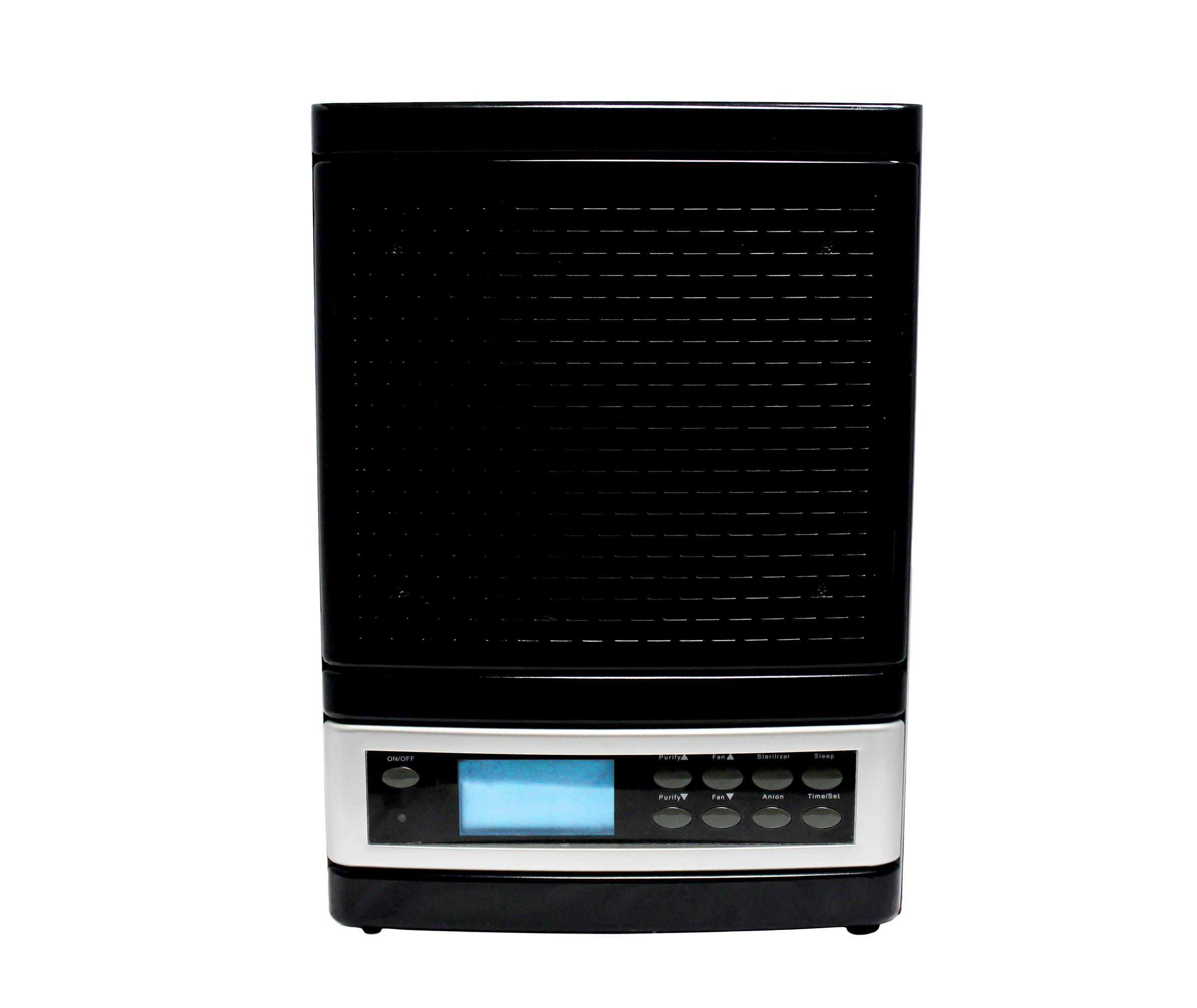 Ozone Ionic Air Purifier : Ionic ozone portable air purifier washable hepa filter