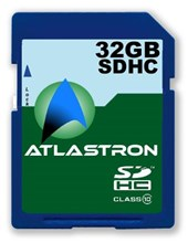 Atlastron 32GB SDHC Cards Class 10 Speed ATSDHC32