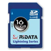 RiDATA Lightning Series 16GB Secure Digital High-Cap Flash Memory