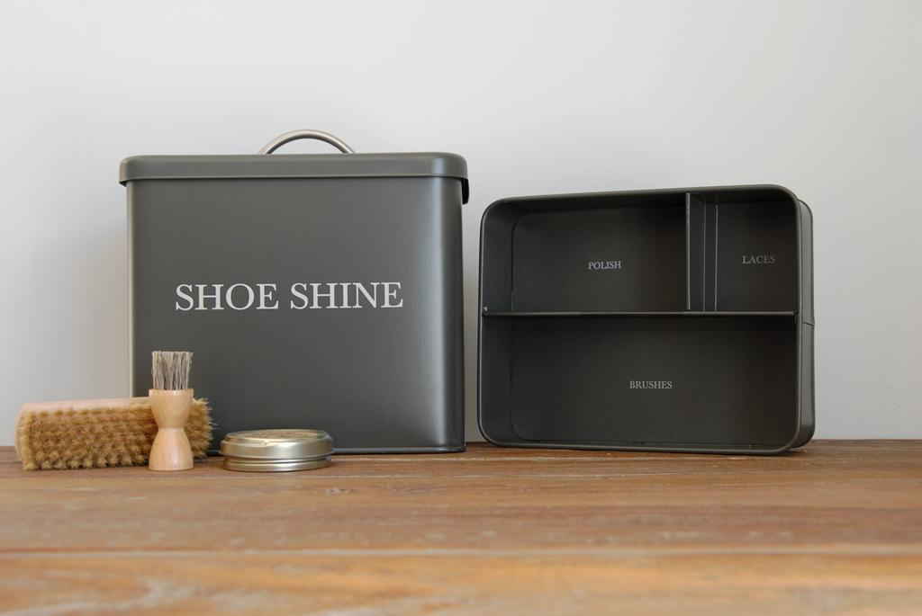 Run Home And Get Your Shoe Shine Box