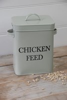 Chicken Feed Tin