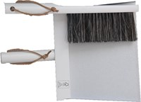 Three piece Broom and Dustpan set - Seconds