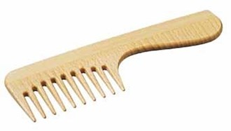 Beechwood Comb with Grip handle