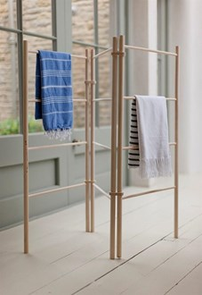 Wooden zig-zag Clothes Dryer - Clothes Airer