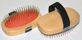 Pet Brush Metal Pin