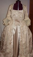 1700s or 18th Century Ladies Wedding Gown