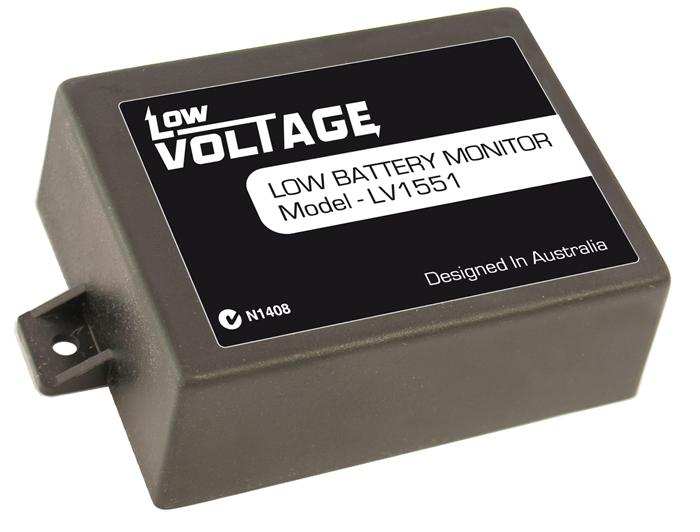 Battery Voltage Monitor : Lv low voltage battery monitor v automotive