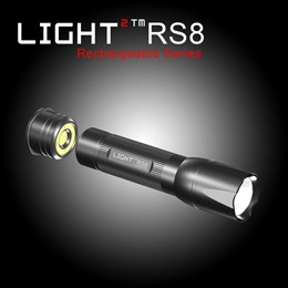 LVRS8 - Light 2 Series Rechargeable LED Torch