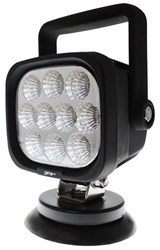 LV9035 - ZETA HD Mining Spec 30 Watt Rechargeable LED Work Light with Magnetic Base & Handle