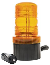 LV0601 - Amber Mini Strobe with Magnetic Base