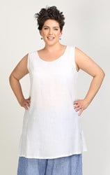 FINAL SALE - Chalet - white janey tunic