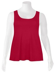 Weyre - cherry relaxed tank
