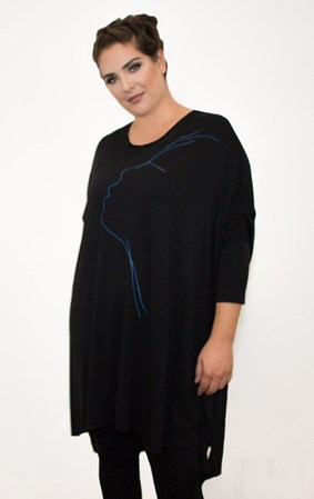 SALE - Jacki Peters - face vortex top - final clearance