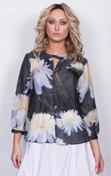 Megan Salmon - hyde park glam blouse