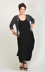 SOLD OUT - Jacki Peters - black moroccan long dress
