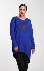 SALE - Moss - spark of life T in iris - final clearance