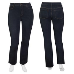 NYDJ - W fit dark indigo straight leg tummy tuck jean