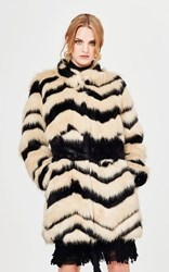 SALE - Trelise Cooper - fur de france coat
