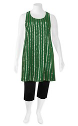 SALE - Insalata - sequin stripe shift dress - final clearance