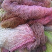 SP029 Fruit Coulis Hand Dyed Silk Fibre