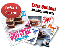 Quit Plan Cookbook plus 2yr Subscription Special