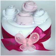 Butterfly Cake Pink