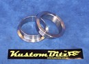 Kustom Bitz Exhaust V band ring collars only - a pair to suit 3