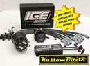 Ford FE series big block 390 428 ICE Ignition Kit - High Energy Ignition system - Race Series 7 Amp 2 Step RPM Limiter 7642MC LARGE CAP