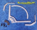 Hot Rod Cycle guard bracket kit - Rear Wheel - solid axle - Stainless Steel
