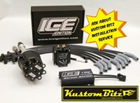Holden 253 308 ICE Ignition Kit - High Energy Ignition system - Street Series 7 Amp Vacuum Advance 7640MV SMALL CAP