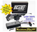 Ford Crossflow 6 Cyl ICE Ignition Kit - High Energy Ignition system N2O - Race Nitrous Oxide 7 Amp switchable retards 7642NR