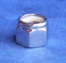 Mirror Topz - Nylock Nut UNC 7/16 inch hand Polished Stainless Steel
