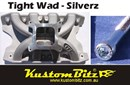 Ford Cleveland V8 Bolt Kit - Inlet Manifold TFC air gap high rise single plane alloy [KustomBitz - Silverz]
