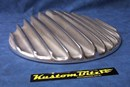 Air Cleaner 14 inch Raised Fins - Top Only - Polished