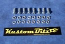 Holden 6 Cyl Bolt Kit 186 & 202 - AussieSpeed Side Plates Alloy, bolts Only [Silverz]