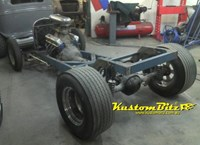 Custom Hot Rod Chassis construction - One off unique chassis and standard chassis modifications