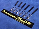 Ford Cleveland V8 Bolt Kit - Valve Cover Alloy & 12mm Spacer [KustomBitz]