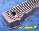 Chrysler Valiant HEMI 6 Pack Valve Cover - RAW Finned 7 Fin