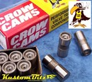 Chev small block 283, 307, 327, 350, 383, 400ci Anti Pump Up Hydraulic camshaft followers lifters - chilled iron