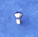 Mirror Topz - Hex Head UNC 5/16 x 3/4 inch hand Polished Stainless Steel Bolt