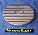 Air Cleaner 9 inch Ford Oval POLISHED - TOP ONLY
