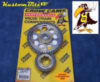 Ford Cleveland V8 Timing Chain Set 302, 351 Clevo - Double Row True Roller Multiple keyed