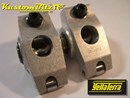 Yella Terra Ford 5.0, 5.8 Litre 289, 302, 351 Windsor Roller Rockers with AFR or Edelbrock heads - Platinum Race series 1.7:1, Twin Shaft Type, 5/16 Bolt on Adjustable YT6612