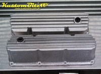 Ford 302 351 Cleveland Rocker Covers AussieSpeed - Finned RAW