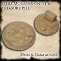 Monster's Nest and Treasure Pile