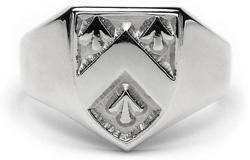 Heraldic Ring - G100 - SilverThis ring is made to order in your size and coat of arms.  . All products sent within Australia are sent through Australia Post,