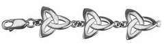 S5302 - Trinity Bracelet,This lovely bracelet in sterling silver , and made in Ireland.