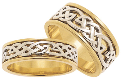 ID308 Strength - Ladies,  This lovely closed weave ring represents attributes that fuse determination, vigour and power together, promoting ever-increasing success.