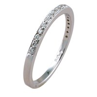 ID341 - Diamond Keepers,Available Diamond variations .1ct diamond pave half way around ring Diamond colours - G Diamond Clarity - SI1 Also available all way around, special quote required.