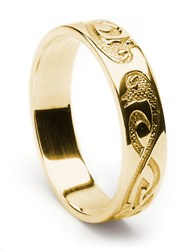 ID209 Swans - Mens,This classic bird design is of two swans. In celtic art swans symbolise beauty, elegance and a life time commitment.